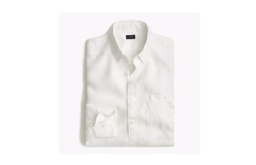 Irish Linen Shirt by J.Crew in Me Before You