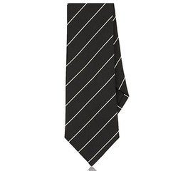 Fine-Striped Peau De Soie Necktie by Ralph Lauren Black Label in The Infiltrator