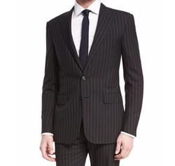 Anthony Wide-Pinstripe Wool Suit by Ralph Lauren in Designated Survivor