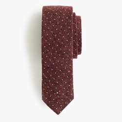 MIcrodot English Silk Tie by J. Crew in Supergirl