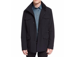 Snap-Front Field Jacket by Armani Collezioni in The Bachelorette