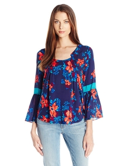 Women's Pintuck Tunic Top by Plenty By Tracy Reese in American Housewife