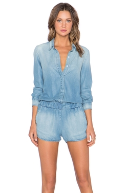 Long Sleeve Romper by Monrow in New Girl