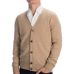 Cashmere Cardigan Sweater by Johnstons Of Elgin in The Flash