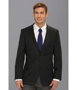 Grey Plain Blazer by DKNY in Master of None