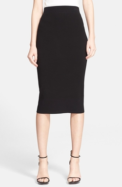 Stretch Knit Pencil Skirt by Michael Kors in Suits