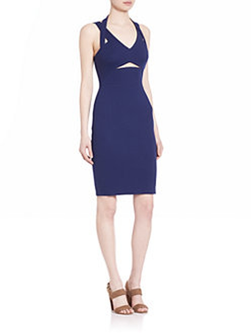 Dazzle Bandage Sheath Dress by Bailey 44 in The Wolf of Wall Street