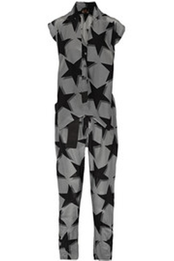 Printed Crepe de Chine Jumpsuit by Vivienne Westwood in The Mindy Project