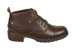 Overdrive Lace Up Boots by Eastland in Midnight Special