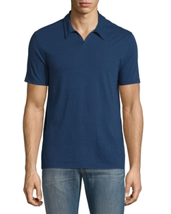 Johnny Collar Short-Sleeve Polo Shirt by John Varvatos Star USA in Ballers