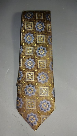 Medallion Tie by Ermenegildo Zenga in Ted 2