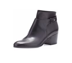 Harriet Leather Ankle Boots by Vince in Fuller House