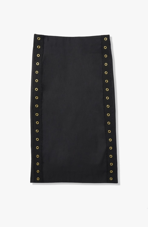 Grommet Detail Pencil Skirt by Derek Lam in Supergirl