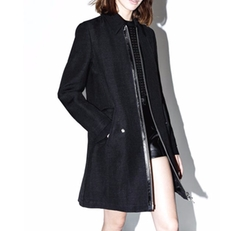 Jute Silk Tailored Trench Coat by 3.1 Phillip Lim in Power