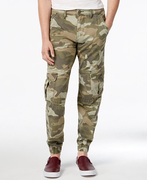 Men's Modern Camouflage Cargo Pants by True Religion  in Central Intelligence