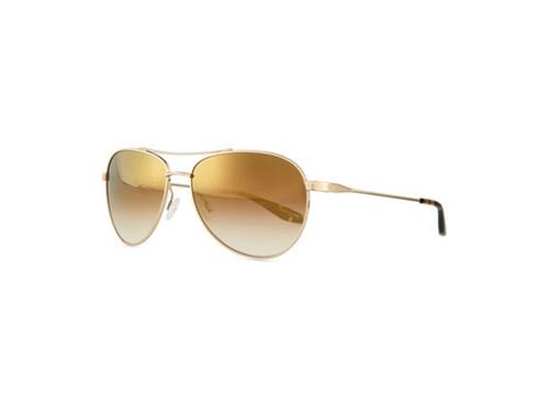 Universal Fit Lovitt Mirror Aviator Sunglasses by Barton Perreira in Keeping Up With The Kardashians - Season 12 Episode 13