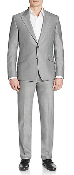 Regular-Fit Woven Wool Suit by Versace Collection in Master of None
