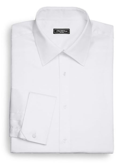 Classic-Fit French Cuff Cotton Shirt by Saks Fifth Avenue Collection in Suits - Season 5 Episode 8