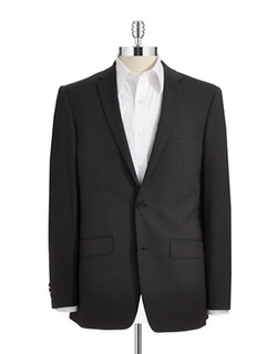 Skinny Two-Button Suit Jacket by DKNY in Master of None