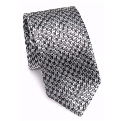 Jacquard Printed Silk Tie by Brioni in Suits - Season 6 Episode 9