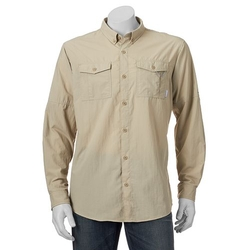 Omni-Shade Glen Meadow Button-Down Shirt by Columbia in The Walking Dead