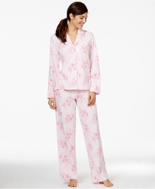 Brushed Knit Top And Pajama Pants Set by Charter Club in The Vampire Diaries - Season 7 Episode 8