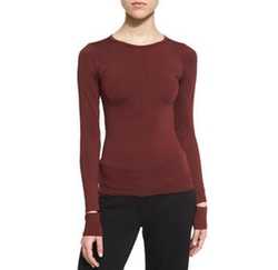 Fitted Slit-Cuff Stretch Jersey Tee by Helmut Lang in Guardians of the Galaxy Vol. 2