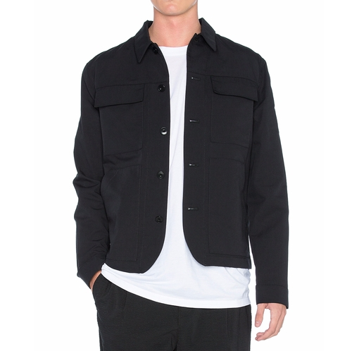 Blazers In Statham: Jason Statham Helmut Lang Patch Pocket Jacket From