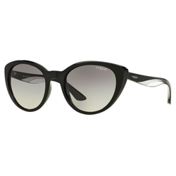Women's VO2963S Plastic Cat Eye Sunglasses by Vogue in Scream Queens