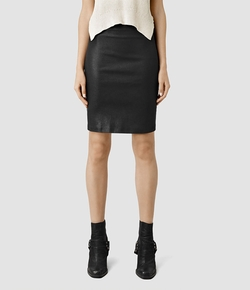 Metal Pencil Skirt by All Saints in A Very Murray Christmas