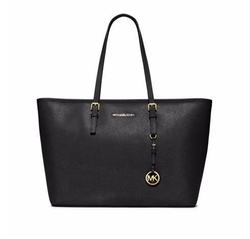 Jet Set Travel Medium Saffiano Tote Bag by Michael Michael Kors in Gypsy