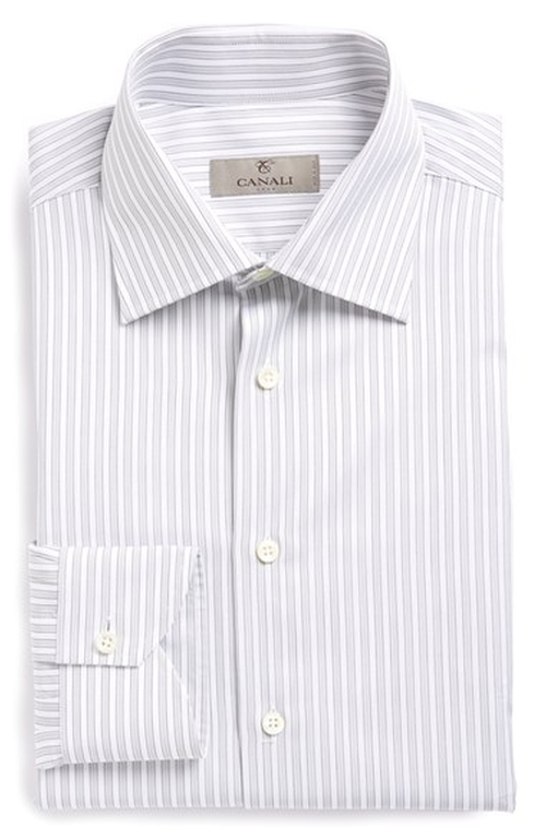 Stripe Dress Shirt by Canali in The Departed