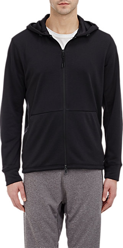 Dryver Zip-Up Hoodie by Theory in The Martian