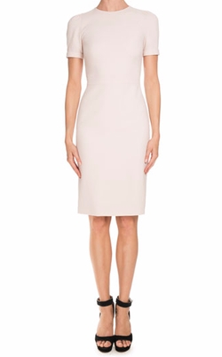 Short-Sleeve Fitted Pencil Dress by Givenchy in Empire