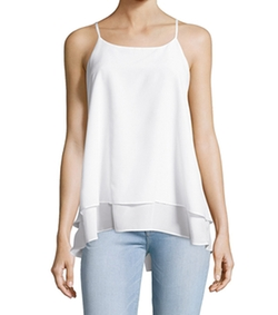 Silk Double Layer Tank Top by Hayden in Love, Rosie