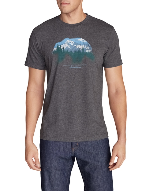 Men's Graphic T-Shirt by Eddie Bauer in Mad Dogs