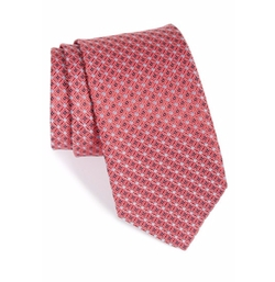 'Capitol Mini' Patterned Silk Tie by John W. Nordstrom in Snowden