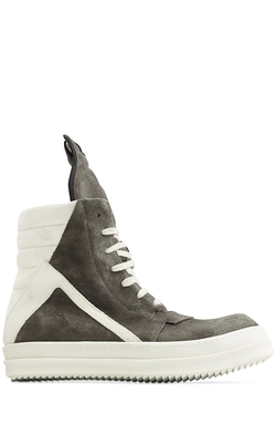 Geobasket Suede High-Top Sneakers by Rick Owens in Pitch Perfect 2