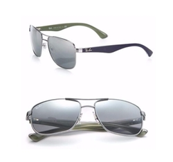 Square Mirrored Sunglasses by Ray-Ban in Jason Bourne