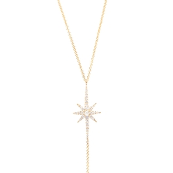 Yellow Starburst Y-Necklace by Graziela in Keeping Up With The Kardashians