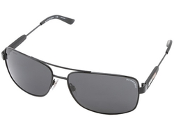 Square Aviator Sunglasses by Burberry in Focus