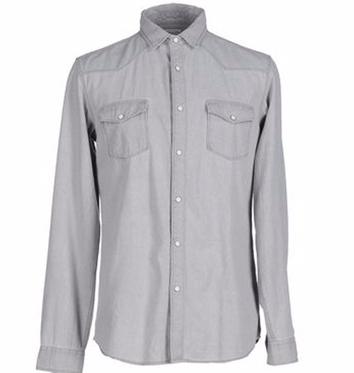Two Pocket Shirt by Selected Homme in The Infiltrator