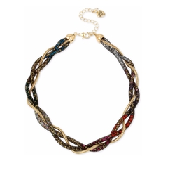 Twisted Collar Necklace by Betsey Johnson in Sisters