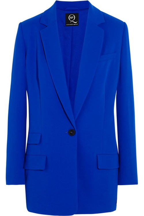 Crepe blazer by Alexander Mcqueen in The Good Wife - Season 7 Episode 6