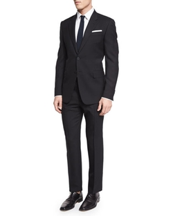 Two-Piece Wool Travel Suit by Paul Smith in Empire