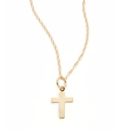 Small Cross Pendant Necklace by Saks Fifth Avenue in The Fate of the Furious