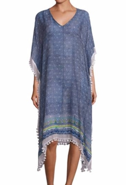 Naolin Printed Kaftan by Roberta Roller Rabbit in Grace and Frankie
