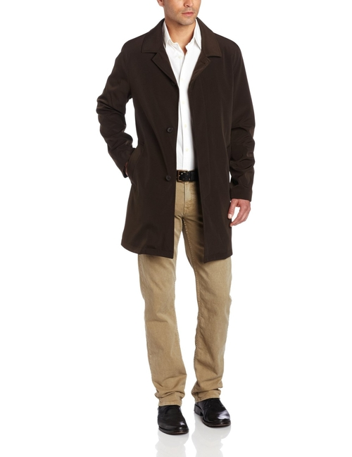 Zip Out Car Coat by Kenneth Cole New York in Love Actually