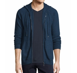 Cashmere Zip-Up Hoodie by Vince in Billions