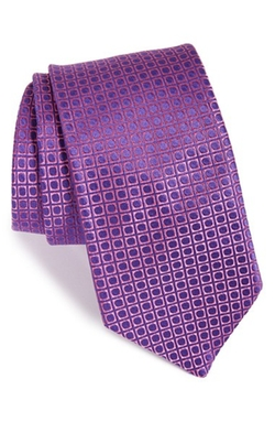 60s Squares II Silk Tie by Ted Baker London in The Good Wife